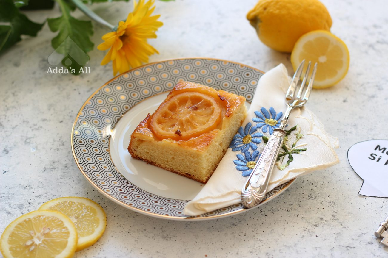 Tortë e kthyer me limonë